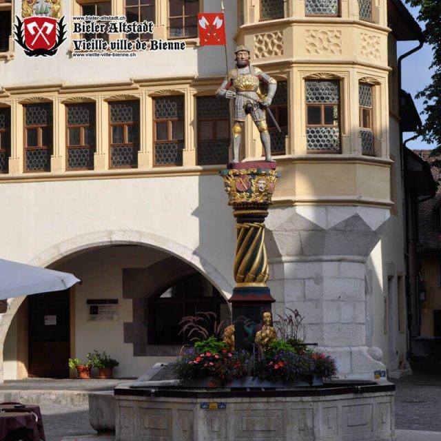 Fontaine du banneret au Ring