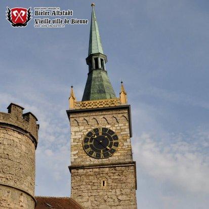Tour de la Poudrière, depuis 1843 Tour de l'Horloge