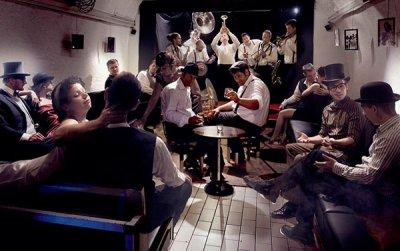 Cave au Jazz, Bar SCAT CLUB