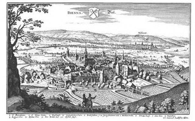 L'histoire de la Ville de Bienne